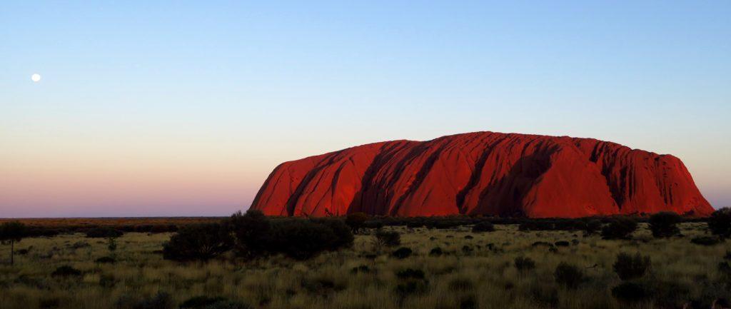 Cœur de la région aride de Red Centre, dans le Territoire du Nord.