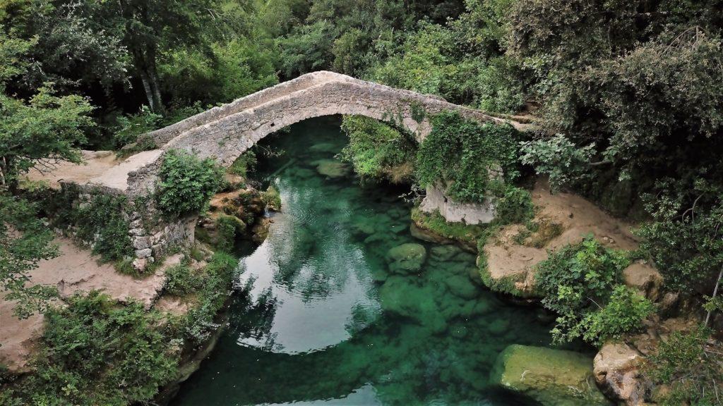 Une randonnée de 2 à 3 heures attend les courageux voulant apprécier ce pont romain.