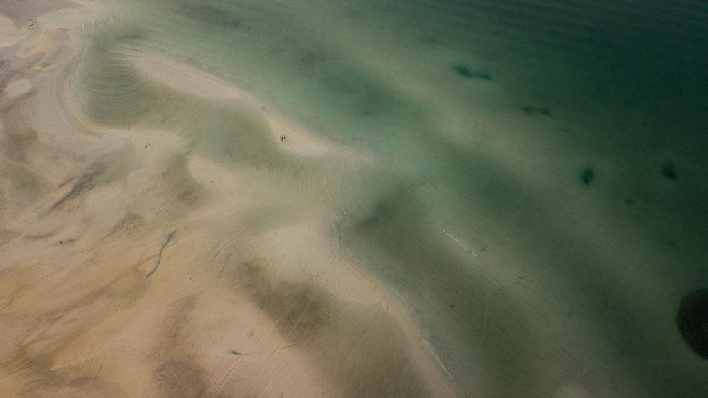 Koh-Rong-Sanloem-photo-drone-plage-marée-basse