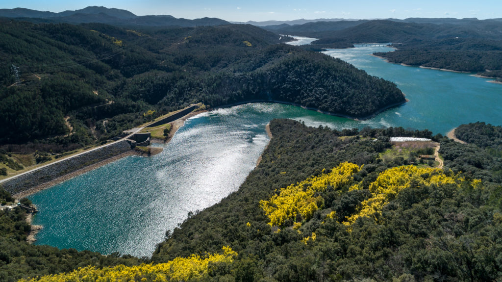 Le lac de Saint-Cassien est un lac de barrage français situé en Provence, dans le sud-est du département du Var, dans la communauté de communes du Pays de Fayence